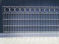 Panel ogrodzeniowy ozdobny