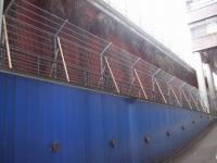 Panel ogrodzeniowy z zagięciem